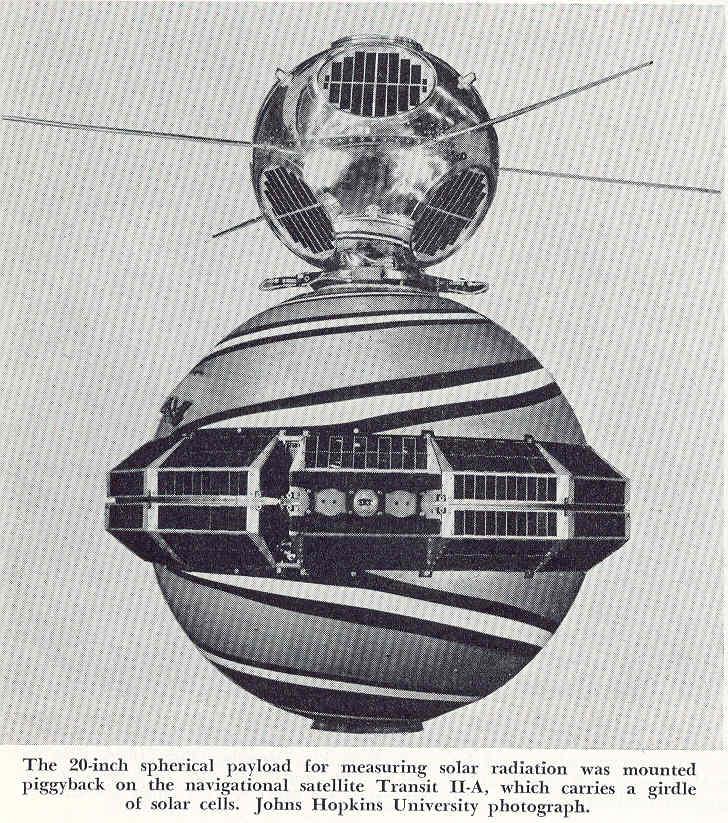 Transit 2A satellite, predecessor to modern GPS